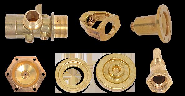 Brass fittings custom elbows tees connectors